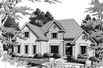 Southern House Plan Front Image of House - 013D-0113 | House Plans and More