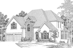 Luxury House Plan Front Image of House - 013D-0118 | House Plans and More