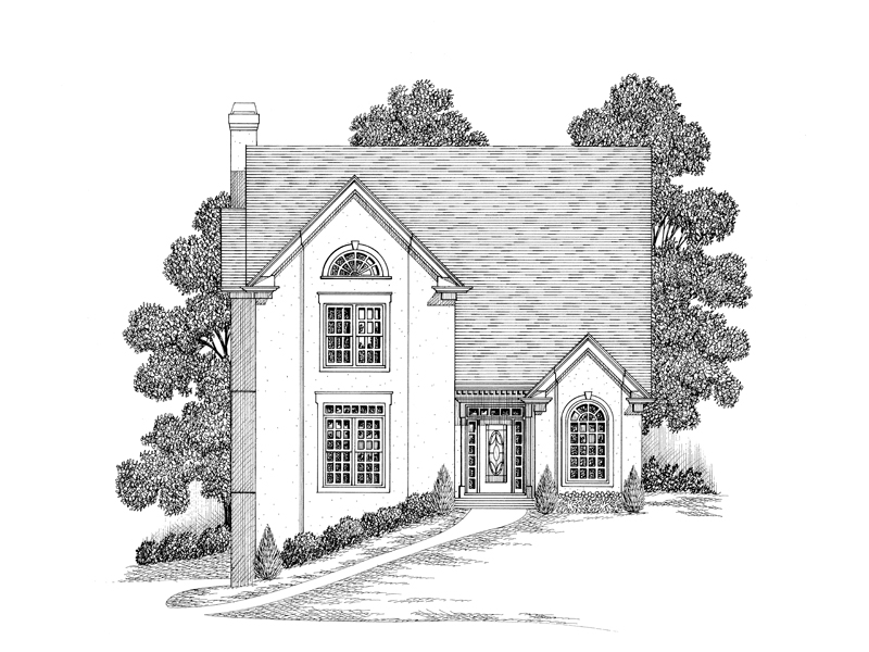 Florida House Plan Front Image of House - 013D-0121 | House Plans and More