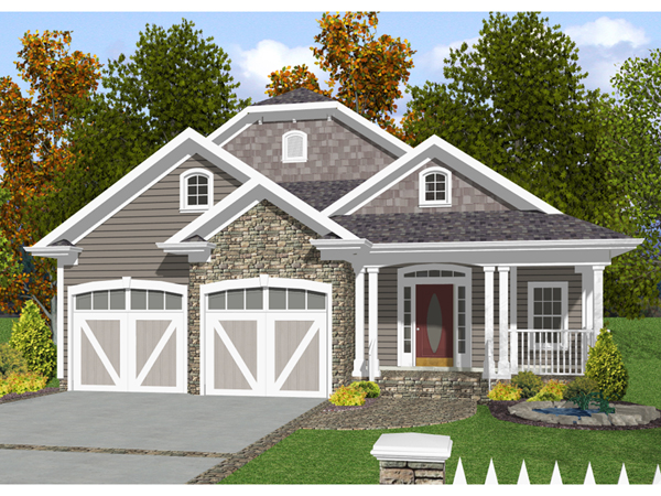 home narrow lot house plans