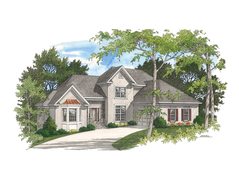 Habersham traditional home plan 013d 0141 house plans for Habersham house plans