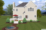 Traditional House Plan Color Image of House - 013D-0150 | House Plans and More