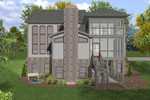 Country French Home Plan Color Image of House - 013D-0153 | House Plans and More