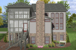 European House Plan Color Image of House - 013D-0158 | House Plans and More