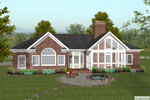 Traditional House Plan Color Image of House - 013D-0159 | House Plans and More