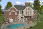 Traditional House Plan Color Image of House - 013D-0165 | House Plans and More