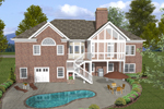 Ranch House Plan Color Image of House - 013D-0167 | House Plans and More