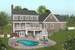 Craftsman House Plan Color Image of House - 013D-0170 | House Plans and More