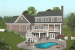 Craftsman House Plan Color Image of House - 013D-0171 | House Plans and More