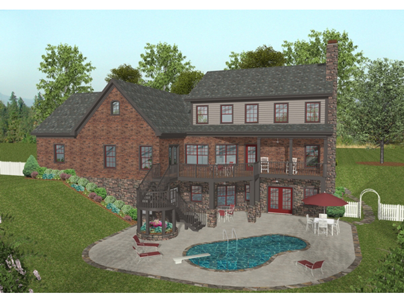 Craftsman House Plan Color Image of House - 013D-0172   House Plans and More