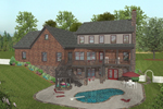 Craftsman House Plan Color Image of House - 013D-0172 | House Plans and More