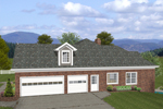 Ranch House Plan Color Image of House - 013D-0176 | House Plans and More