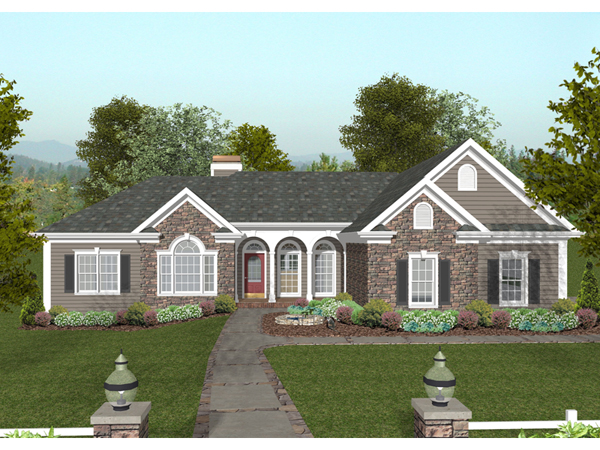 Ridgegrove traditional home plan 013d 0177 house plans for Accent homes floor plans