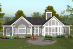 European House Plan Color Image of House - 013D-0177 | House Plans and More