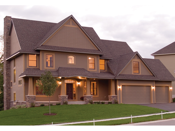 Natchez luxury craftsman home plan 013d 0178 house plans for Craftsman luxury homes