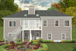 Traditional House Plan Color Image of House - 013D-0180 | House Plans and More