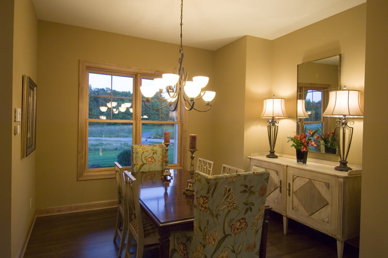 Prairie Style Floor Plan Dining Room Photo 01 013D-0188