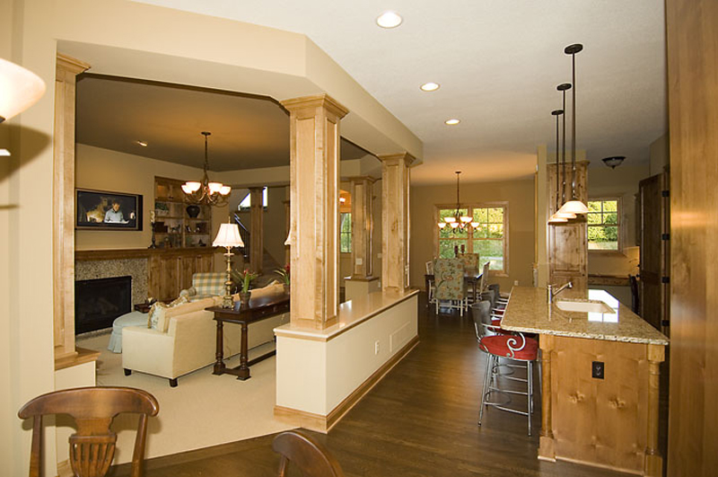 Prairie Style Floor Plan Hall Photo - 013D-0188 | House Plans and More