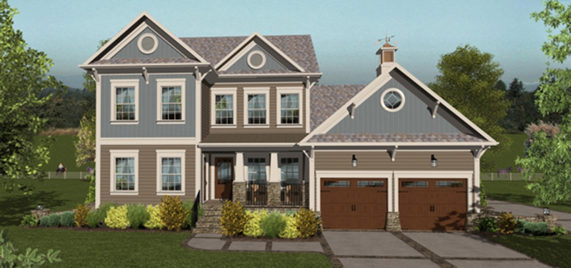 Arts & Crafts House Plan Front of Home -  013D-0207 | House Plans and More