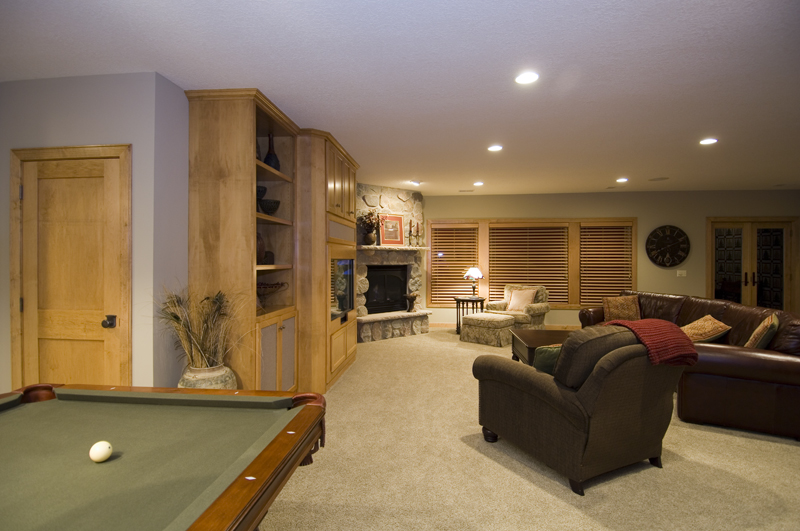 Traditional House Plan Basement Photo 02 013S-0001