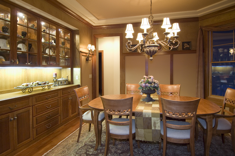 Prairie Style Floor Plan Dining Room Photo 01 013S-0001