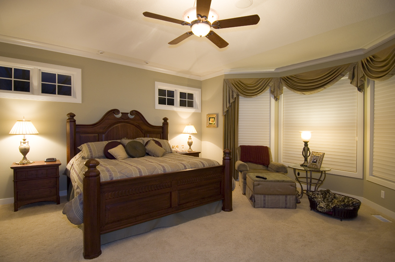 Prairie Style Floor Plan Master Bedroom Photo 01 013S-0001