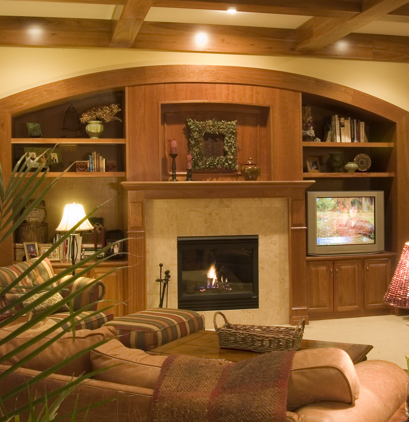 Prairie Style Floor Plan Family Room Photo 01 013S-0003