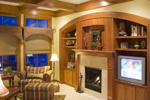 Traditional House Plan Family Room Photo 02 - 013S-0003 | House Plans and More