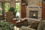 Prairie Style Floor Plan Family Room Photo 02 - 013S-0004 | House Plans and More