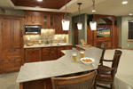 Prairie Style Floor Plan Kitchen Photo 02 - 013S-0004 | House Plans and More