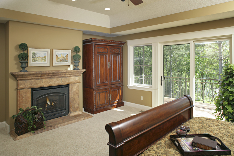 Prairie Style Floor Plan Master Bedroom Photo 02 013S-0004
