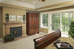 Prairie Style Floor Plan Master Bedroom Photo 02 - 013S-0004 | House Plans and More