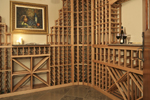 Arts and Crafts House Plan Wine Cellar Photo - 013S-0004 | House Plans and More