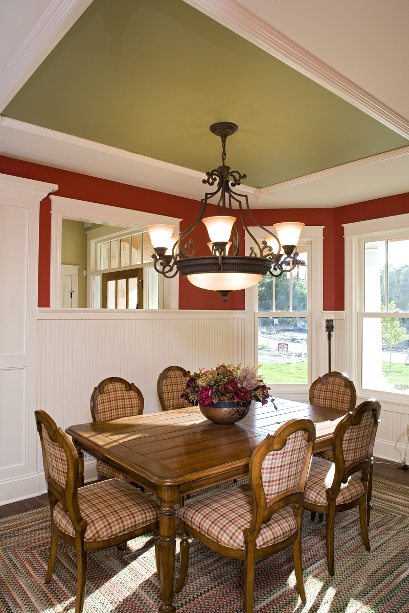 Prairie Style Floor Plan Dining Room Photo 01 013S-0008