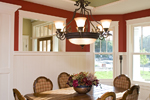 Prairie Style Floor Plan Dining Room Photo 01 - 013S-0008 | House Plans and More