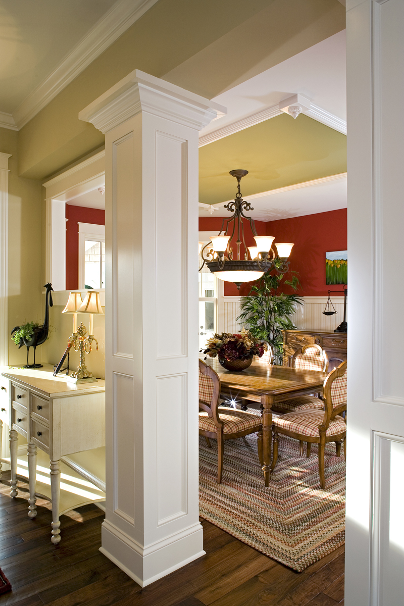 Prairie Style Floor Plan Dining Room Photo 02 013S-0008