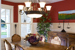 Prairie Style Floor Plan Dining Room Photo 03 - 013S-0008 | House Plans and More