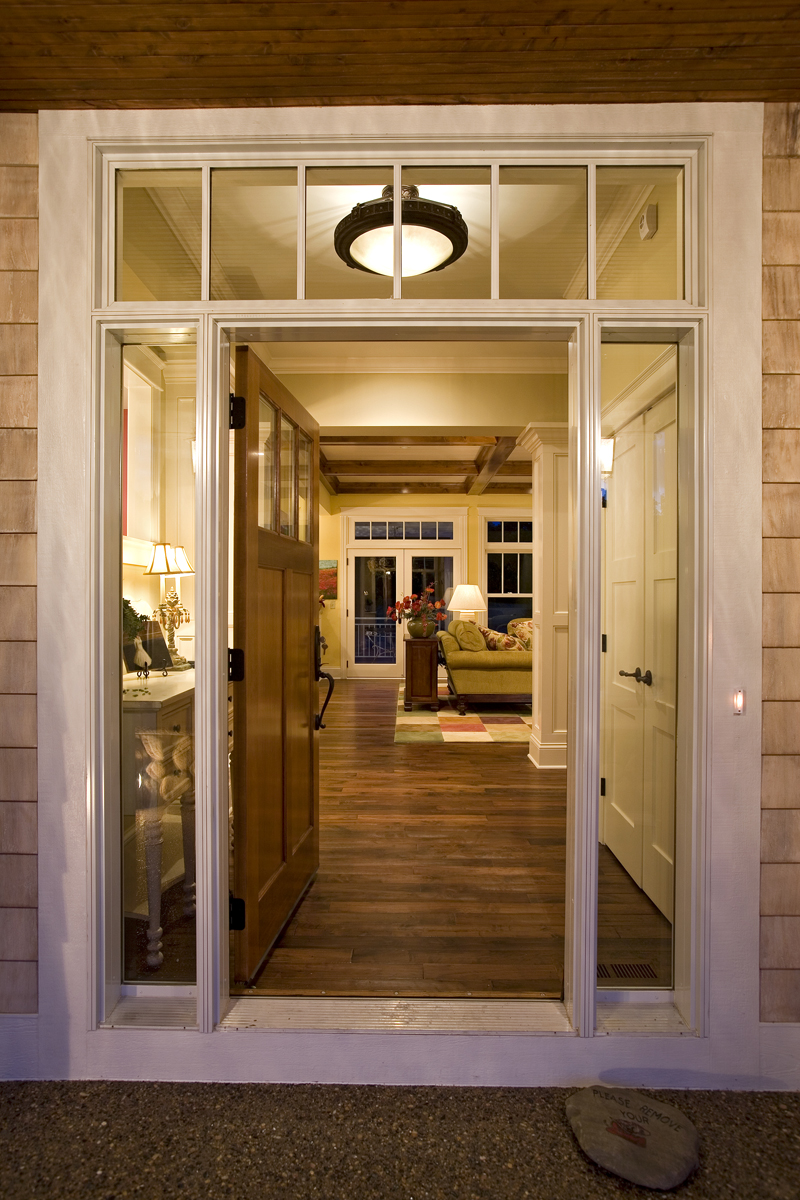 Prairie Style Floor Plan Door Detail Photo 013S-0008