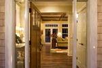 Prairie Style Floor Plan Door Detail Photo - 013S-0008 | House Plans and More