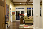 Prairie Style Floor Plan Hall Photo - 013S-0008 | House Plans and More