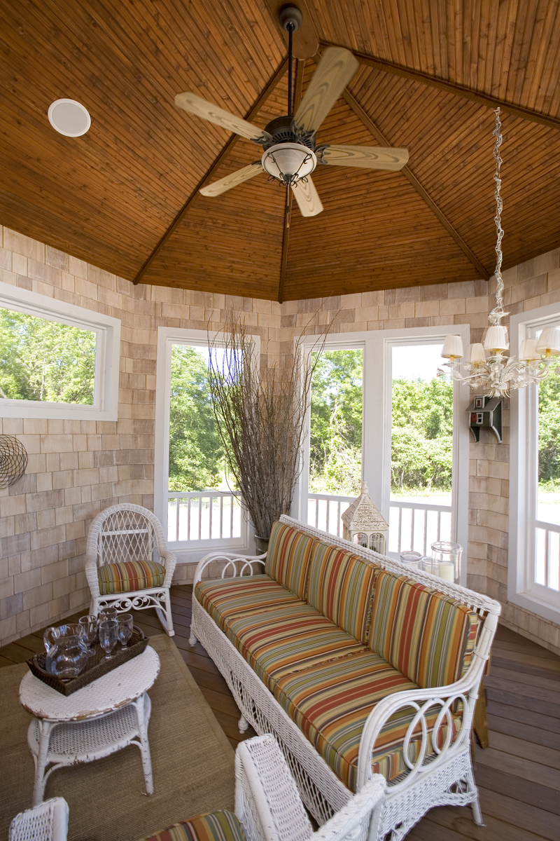 Prairie Style Floor Plan Porch Photo 01 013S-0008
