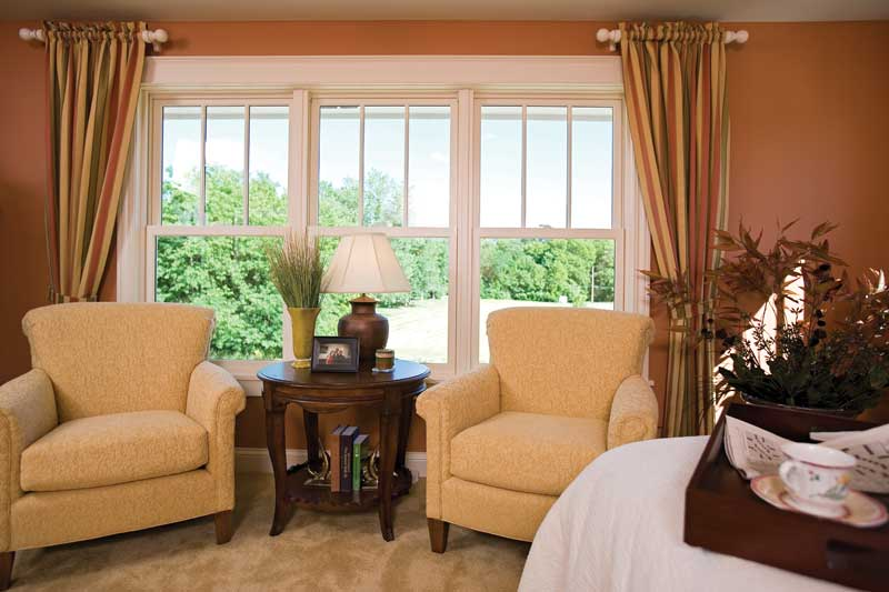 Prairie Style Floor Plan Sitting Room Photo 01 013S-0008