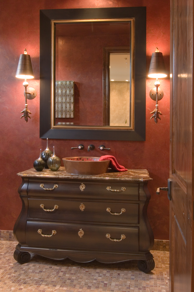 Prairie Style Floor Plan Bathroom Photo 01 013S-0009