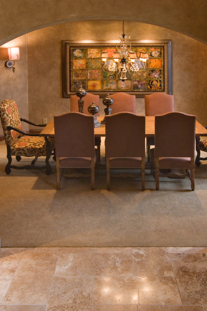 Prairie Style Floor Plan Dining Room Photo 01 013S-0009