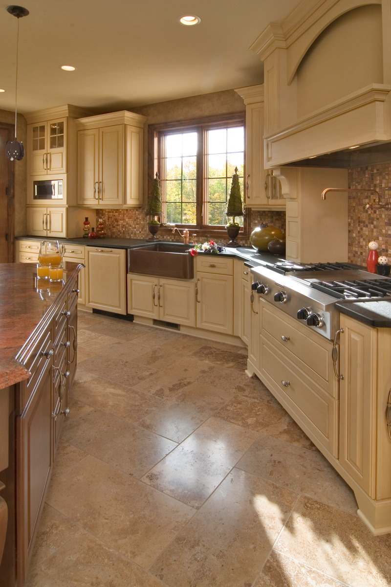 Prairie Style Floor Plan Kitchen Photo 01 013S-0009