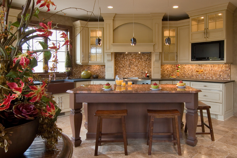 Prairie Style Floor Plan Kitchen Photo 02 013S-0009
