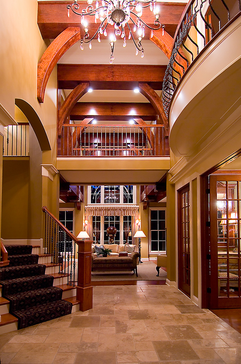 Luxury House Plan Foyer Photo 013S-0010