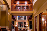 Prairie Style Floor Plan Foyer Photo - 013S-0010 | House Plans and More