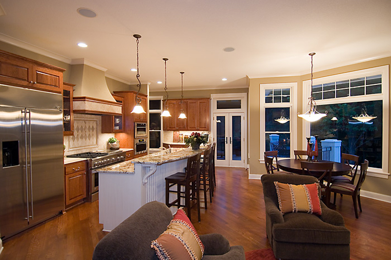 Prairie Style Floor Plan Kitchen Photo 02 013S-0010