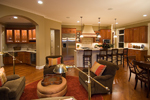 Prairie Style Floor Plan Kitchen Photo 03 - 013S-0010 | House Plans and More